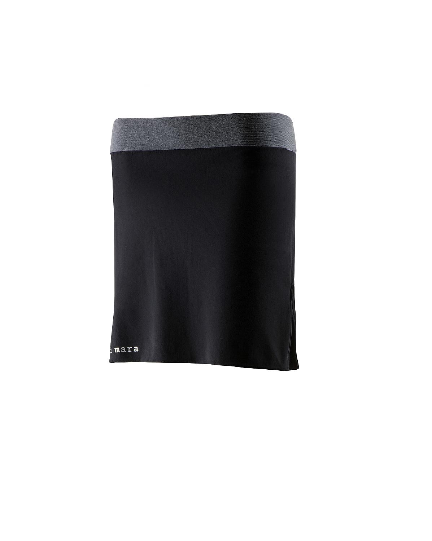 Laufrock mit Innenshort schwarz