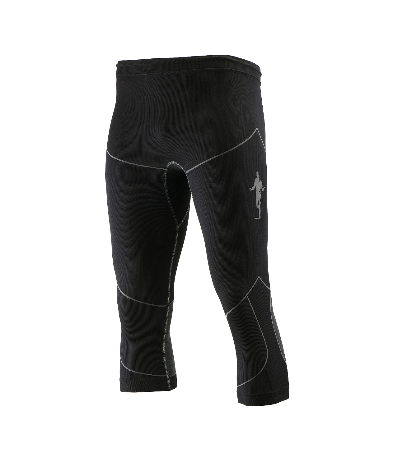 unisex 3_4 Tight schwarz